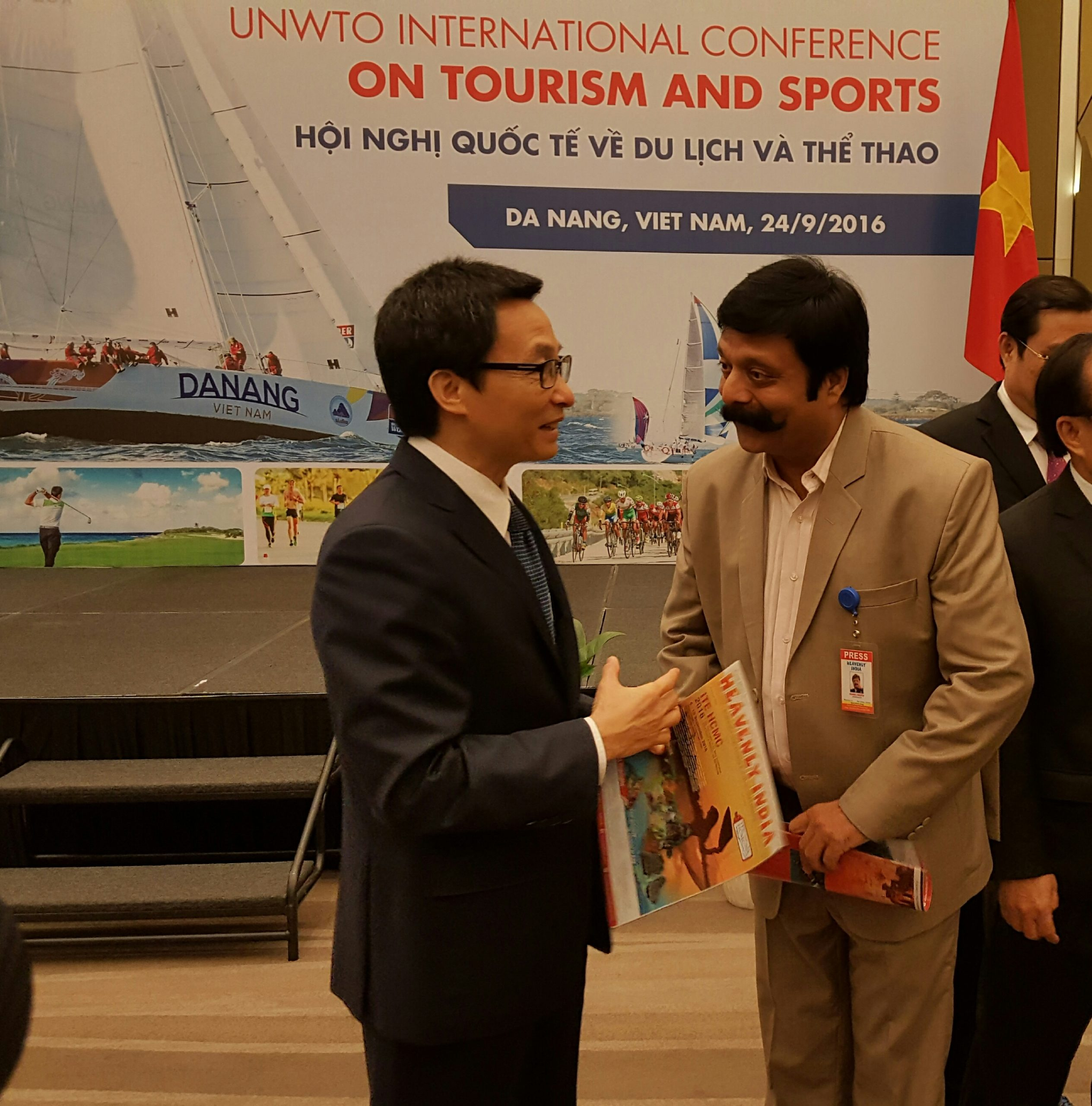 Vietnam – Danang- UNWTO Sports and Beach Tourism 22-24 Sep 2016