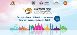 The ASEAN Tourism Forum (ATF) will return to Cambodia in 2022- from 16 Jan to 22 Jan 2022